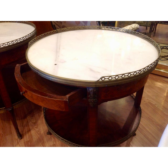 Pair of Fine French Bouillotte Tables For Sale - Image 11 of 13
