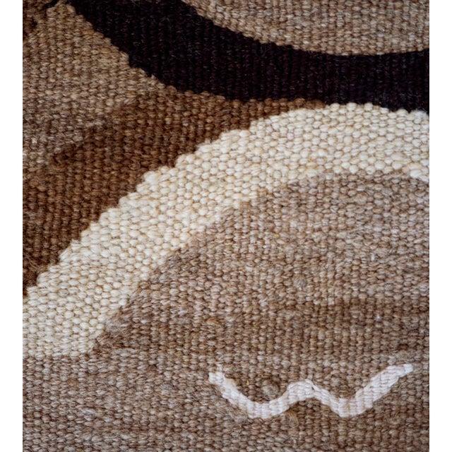 Wool Flatweave Rug Handwoven in Turkey For Sale In Los Angeles - Image 6 of 7