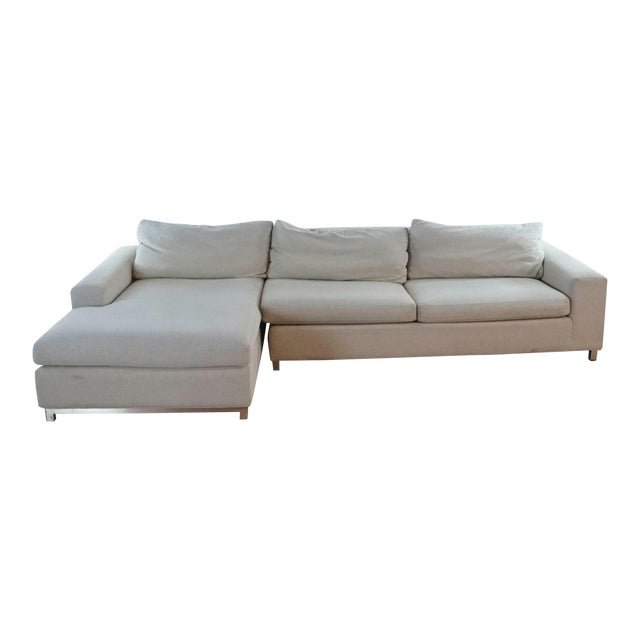 Room & Board Upholstered Sectional Sofa For Sale
