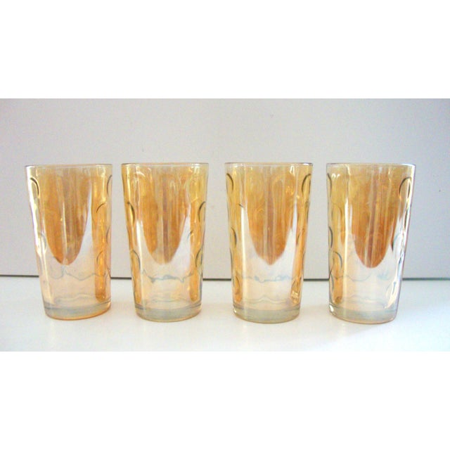 Mid-Century Hollywood Regency High Ball Glasses - Image 9 of 11