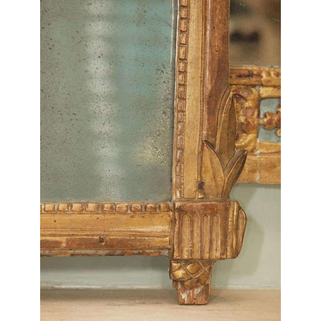 Mid 18th Century Louis XVI Trumeau For Sale - Image 5 of 8