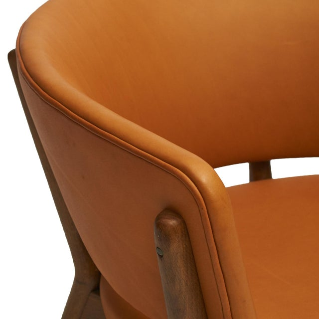 Animal Skin Nanna Ditzel Model #ND83 Lounge Chairs - a Pair For Sale - Image 7 of 10