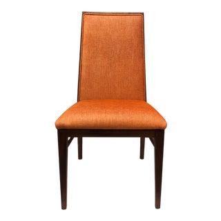 1970s Vintage Milo Baughman for Dillingham Walnut Side Chair For Sale
