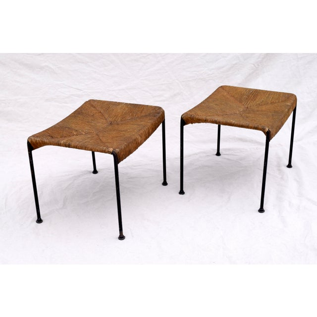 Arthur Uminoff Iron Benches - a Pair - Image 7 of 11