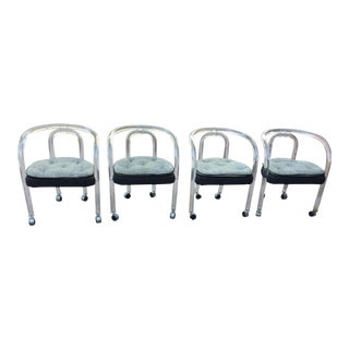 Charles Hollis Jones Lucite Chairs - Set of 4/6