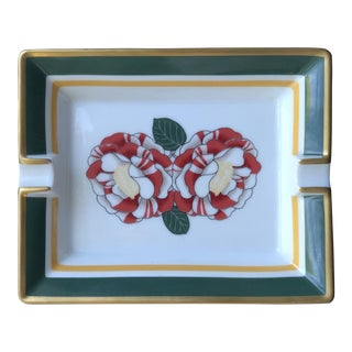 Hermes Paris Porcelain Ashtray For Sale