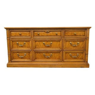 "Thomasville Furniture Serenade Collection 66"" Triple Dresser 21211-130 For Sale"