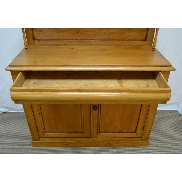 Late 19th Century Country Pine and Beech Chiffonier For Sale - Image 5 of 10