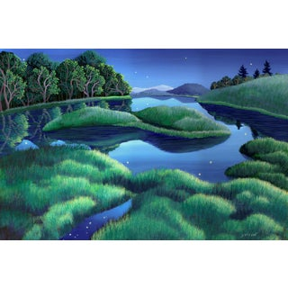 """""""I Wish I May"""" Contemporary Landscape Archival Giclee Reproduction by Wynn Yarrow For Sale"""