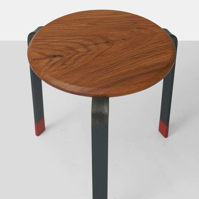 Brutalist Josh Duthie - Low Stacking Stools - set of 3 For Sale - Image 3 of 5