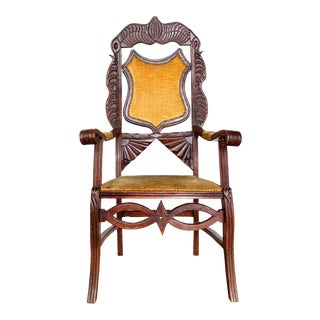 1800s Antique French Chair For Sale
