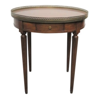 Louis XVI Fruitwood & Brass Gallery Table