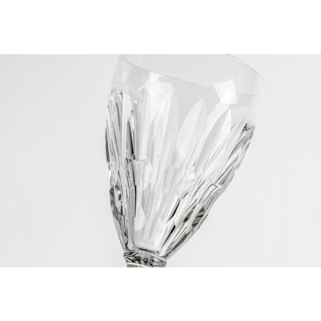 Baccarat Mid Century Baccarat Crystal Glasses - Set of 12 For Sale - Image 4 of 5