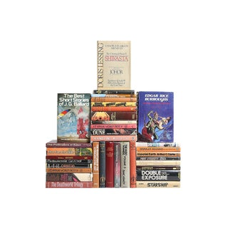 Midcentury Sci-Fi & Fantasy Novels, S/35 Custom Set For Sale