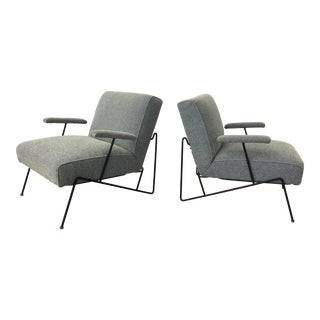 Dan Johnson for Pacific Iron Lounge Chairs- A Pair For Sale