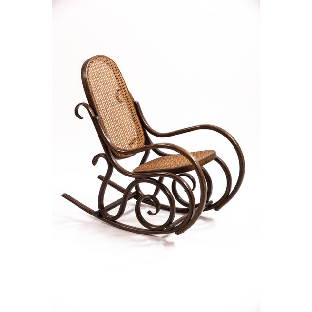 Bentwood Child's Rocking Chair For Sale - Image 4 of 4