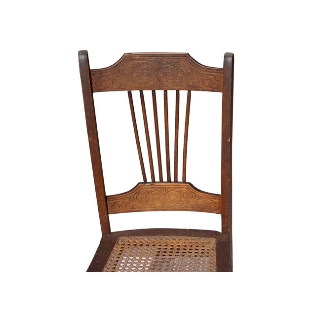Vintage Dining Chairs - A Pair - Image 3 of 4