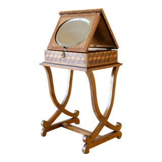 French Early 20th Century Sewing Side Table For Sale
