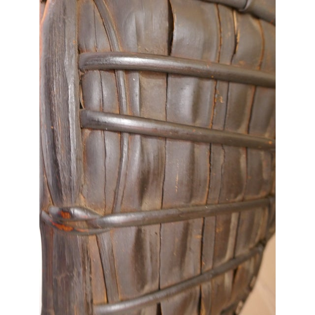 Antique Philippine Rice Basket & Rain Hood For Sale In Los Angeles - Image 6 of 9