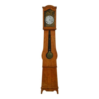 Antique 19th-Century French Morbier Case Clock