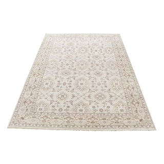 Traditional Soft Beige Neutral Rug - 10′1″ × 13′11″ For Sale