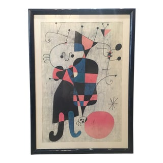 Surrealist Collectible Print by Joan Miro For Sale