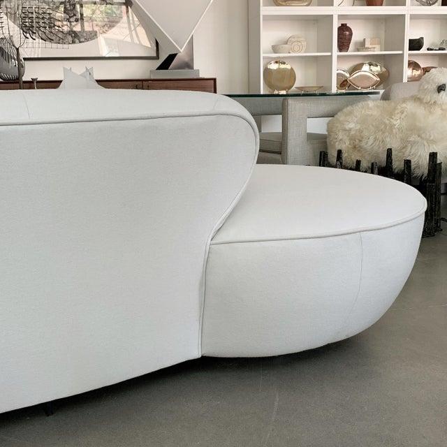 Vladimir Kagan Serpentine Sofa for Directional For Sale - Image 11 of 13