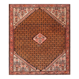 """Antique Persian Malayer Rug 2'0""""x2'5"""" For Sale"""