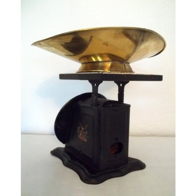 Antique Brass American Kitchen Scales - Image 4 of 5