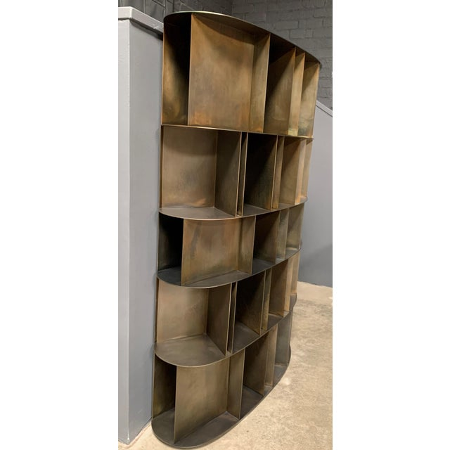 Modern Existence Metal Bookcase by DeCastelli For Sale - Image 3 of 7