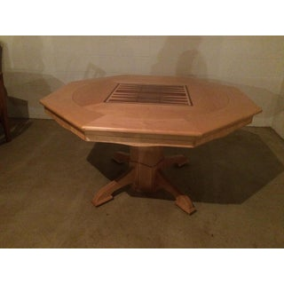 Two-Sided Game Table With Adjustable Chairs Preview