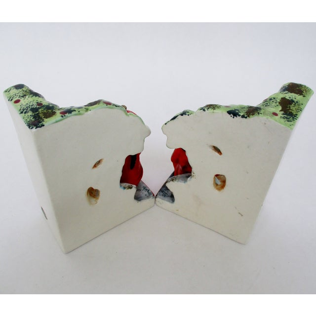 Ceramic Vintage Japanese Bookends, a Pair For Sale - Image 7 of 8