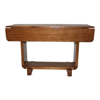 Shirley Temple's Art Deco Drop-Leaf Child Table For Sale