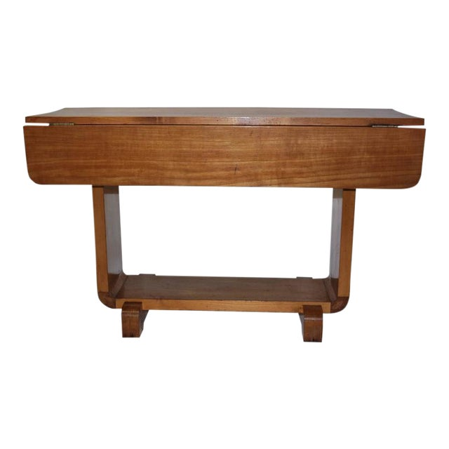 Shirley Temple's Art Deco Drop-Leaf Child Table - Image 1 of 10