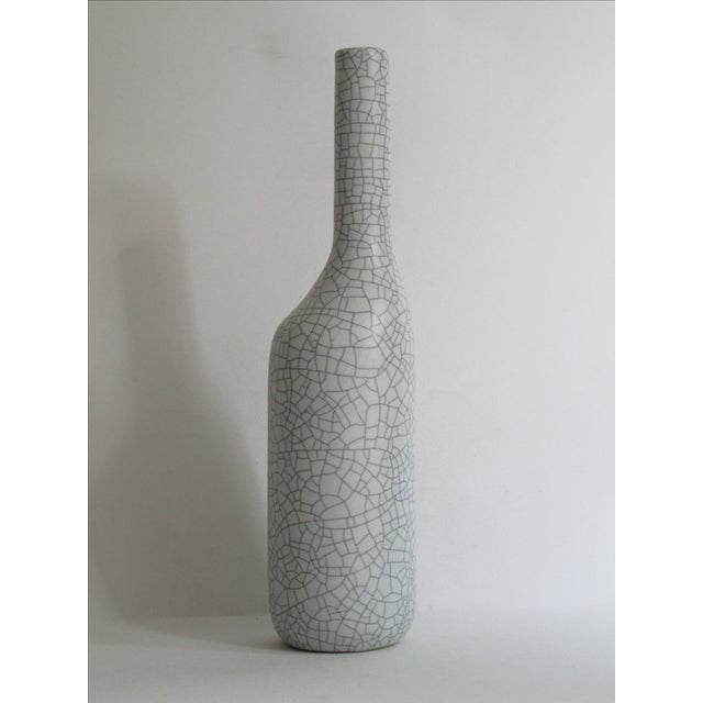 Asymmetrical Crackle Vase - Image 3 of 7