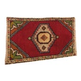 Image of Handwoven Turkish Carpet - 1′8″ × 2′9″ For Sale