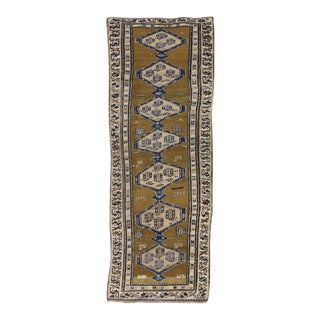 Antique Sarab Persian Runner with Modern Tribal Style For Sale