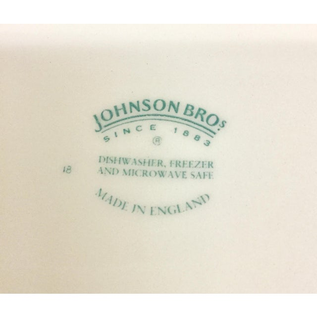Johnson Bros England Tableware - Set of 5 For Sale - Image 9 of 11