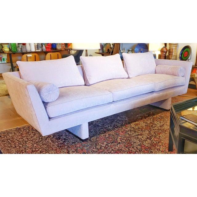 Dunbar Furniture Vintage Edward Wormley Sofa 5485 for Dunbar For Sale - Image 4 of 12