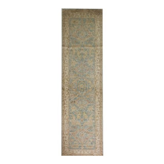 Hand Knotted Oushak Runner - 3′ × 9′ For Sale