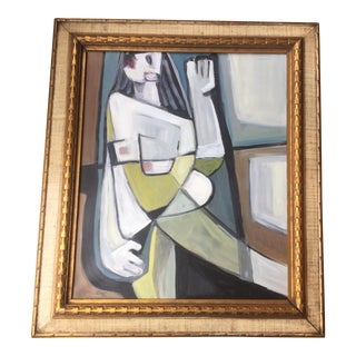 Original Stewart Ross Female Nude Painting
