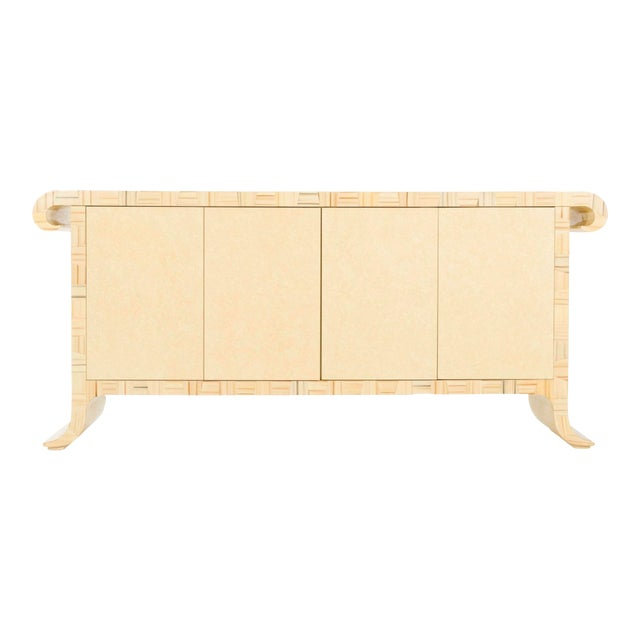 1980's Credenza by Alessandro Gambrelli for Baker For Sale