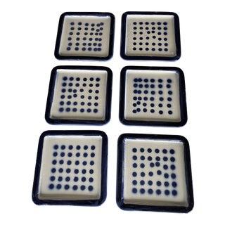 Roger Capron Ceramic Plate/Tile Wall Hangings - Set of 6 For Sale