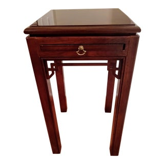 Traditional Drexel Mahogany Side Table For Sale