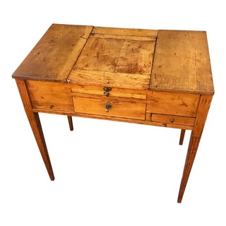 19th Century French Fruitwood Dressing Table For Sale