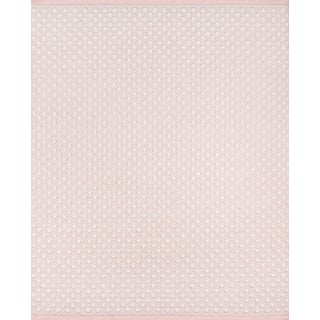 Erin Gates by Momeni Langdon Windsor Pink Hand Woven Wool Area Rug - 8′6″ × 11′6″ For Sale
