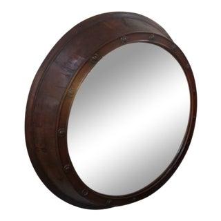 """19th Century English Walnut """"Bulleyes"""" Mirror For Sale"""
