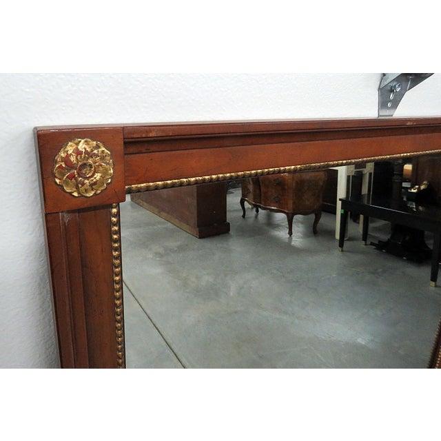 Kindel Furniture Kindel Furniture Belvedere Regency Style Wall Mirror For Sale - Image 4 of 7