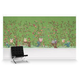 Casa Cosima Emerald Fauna Wallpaper Mural - Sample Preview