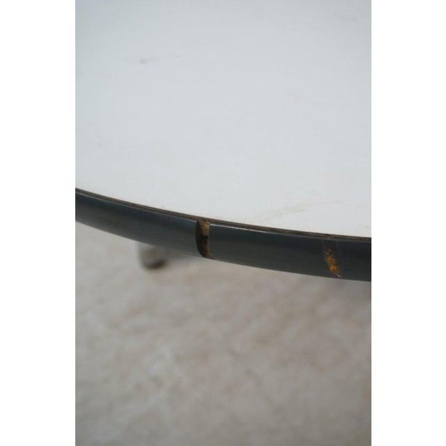Herman Miller Pedestal Coffee Table with White Laminate Top, Circa 1960 - Image 7 of 7